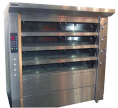 Gas Stone Hearth Oven